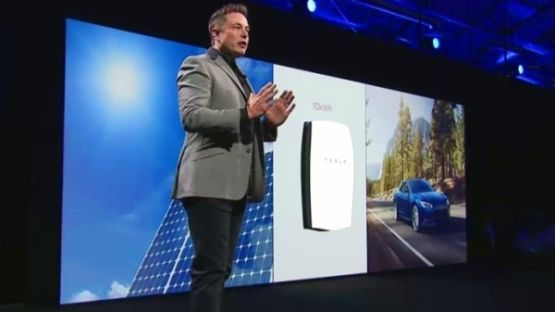 Elon Musk and the Powerwall.